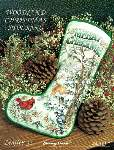 Woodland Christmas Stocking - Cross Stitch Pattern