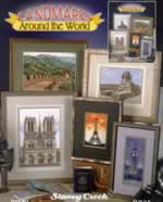 Landmarks Around the World - Cross Stitch Pattern