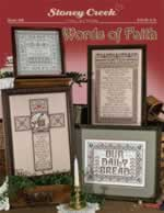 Words of Faith - Cross Stitch Pattern