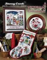 Victorian Village Christmas - Cross Stitch Pattern