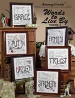 Words to Live By Vol 3 - Cross Stitch Pattern
