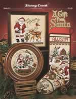 A Gift From Santa - Cross Stitch Pattern