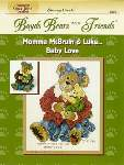 Momma McBruin and Luke Baby Love - Cross Stitch Pattern