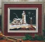 Lighthouse of Christmas III - Cross Stitch Pattern