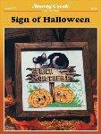 Sign of Halloween - Cross Stitch Pattern