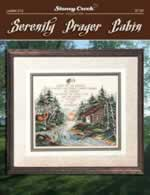 Serenity Prayer Cabin - Cross Stitch Pattern