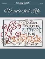Wonderful Life - Cross Stitch Pattern