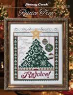 Rejoice Tree - Cross Stitch Pattern