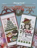 Christmas Banners IV - Cross Stitch Pattern