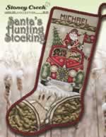 Santas Hunting Stocking