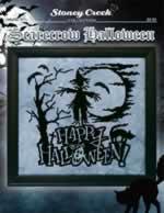 Scarecrow Halloween - Cross Stitch Pattern