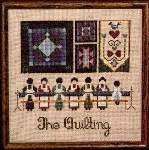 The Quilting - Cross Stitch