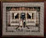 Amish Welcome - Cross Stitch