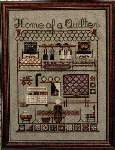 Home of a Quilter - Cross Stitch