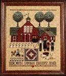 Brown Swiss Dairy - Cross Stitch