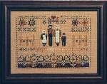 Settlers Sampler - Cross Stitch