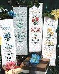 Birthday Bellpulls 1 - Cross Stitch Pattern