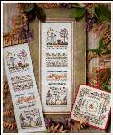 Autumn Garden Sampler - Cross Stitch Pattern