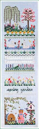 Spring Garden Sampler - Cross Stitch Pattern