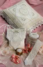 Heirloom Wedding Treasures - Cross Stitch