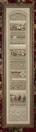 Heirloom Stitching Sampler - Cross Stitch