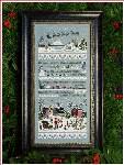 Santas Village Sampler - Cross Stitch Pattern