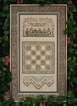 Quilting Bee Sampler - Cross Stitch