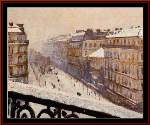 Boulevard Houssmann - Cross Stitch Pattern