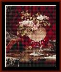 Still Life with Apple Blossoms - Cross Stitch Pattern