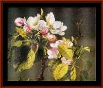 Apple Blossoms - Cross Stitch Pattern