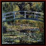 The Waterlily Pond - Cross Stitch Pattern