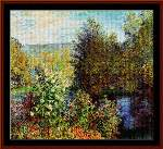 Garden at Montgeron - Cross Stitch Pattern