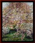 Walnuts and Apple Trees - Cross Stitch Pattern