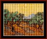Olive Trees - Cross Stitch Pattern