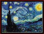 Starry Night - Cross Stitch Pattern